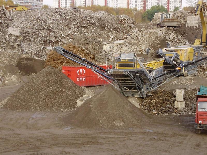 виды строительных отходов